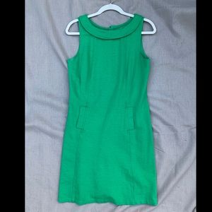 Boden green ponte dress